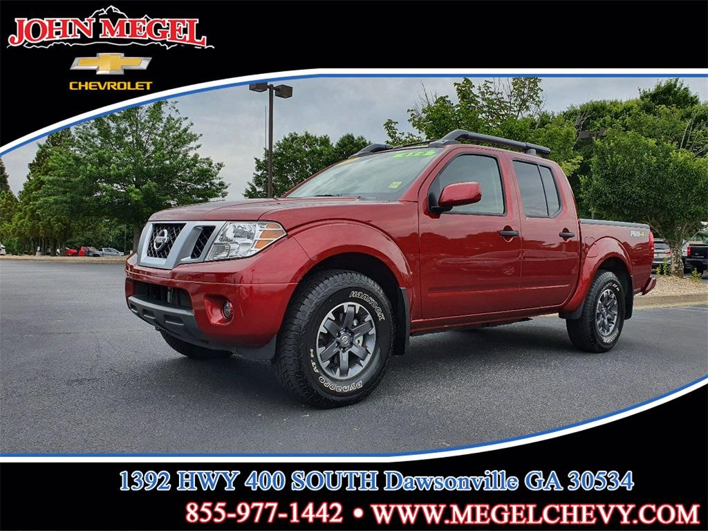 2020 Nissan Frontier Crew Cab 4x4, Pickup #T212298A - photo 1