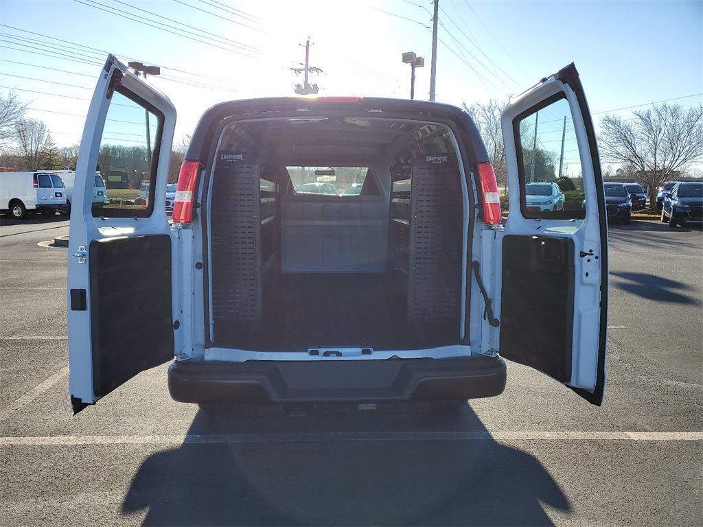 2021 Chevrolet Express 2500 4x2, Knapheide Upfitted Cargo Van #T219002 - photo 1