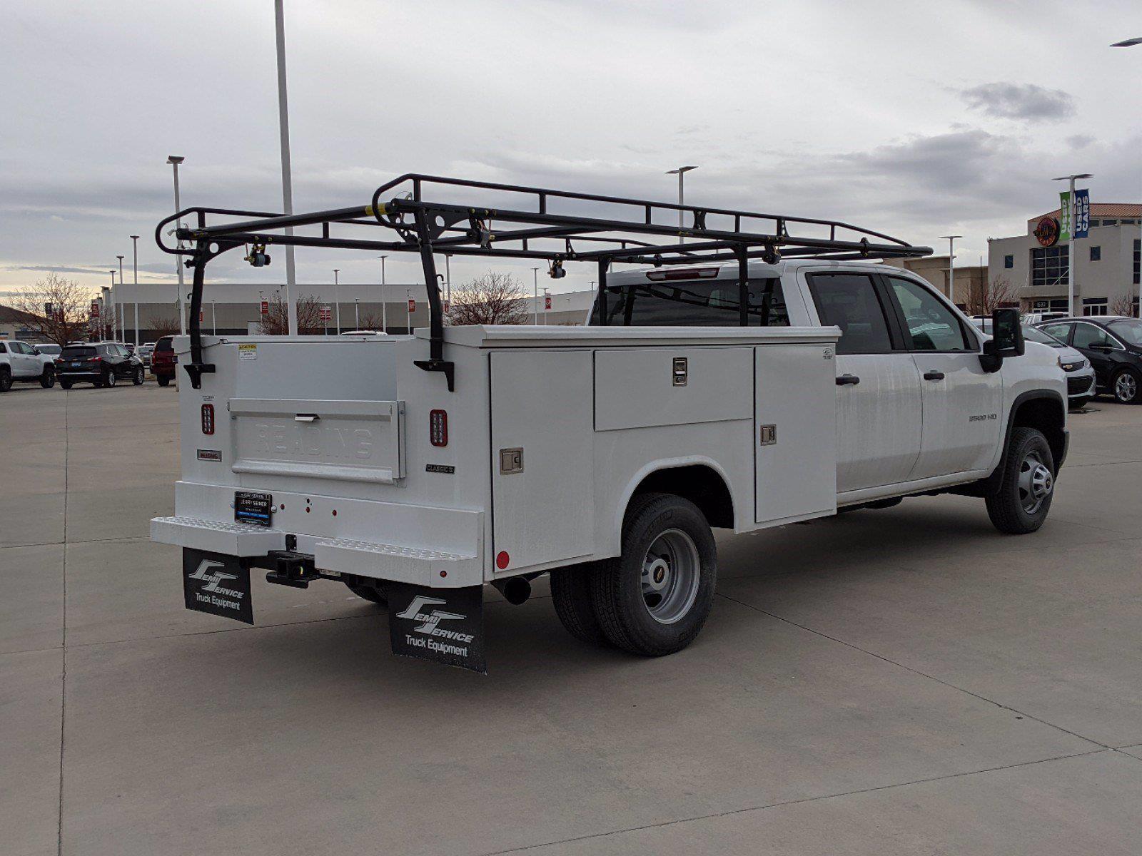 2021 Chevrolet Silverado 3500 Crew Cab 4x4, Reading Service Body #CM21005 - photo 1