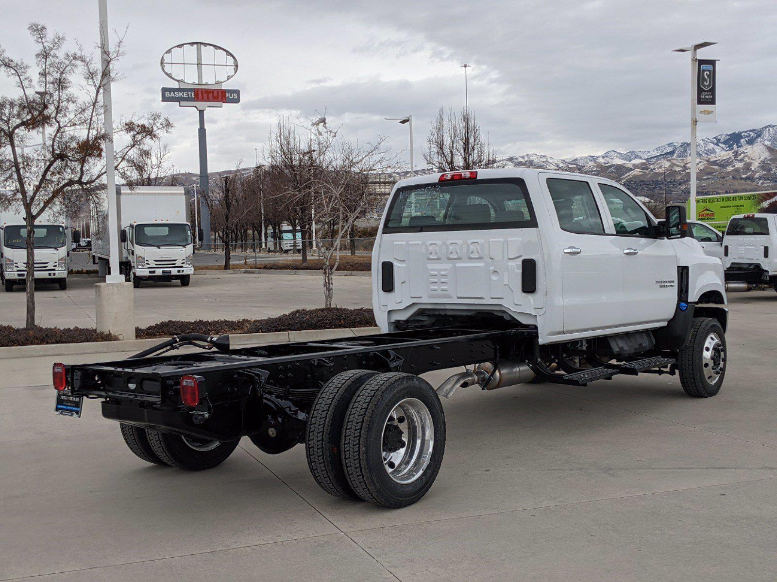 2021 Chevrolet Silverado 6500 DRW 4x4, Cab Chassis #CM21013 - photo 1