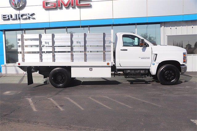 2021 Silverado 5500 Regular Cab DRW 4x2,  Scelzi Stake Bed #21T379 - photo 5