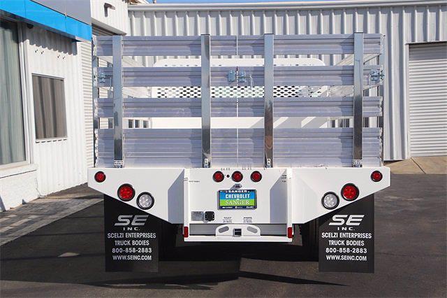 2021 Silverado 5500 Regular Cab DRW 4x2,  Scelzi Stake Bed #21T379 - photo 6