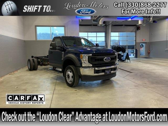 2020 Ford F-450 Regular Cab DRW 4x4, Cab Chassis #10037R - photo 1
