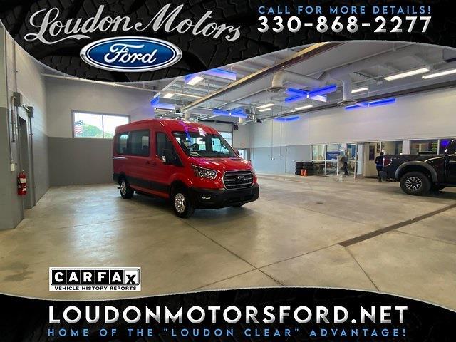 2020 Ford Transit 150 Medium Roof AWD, Passenger Wagon #10283R - photo 1