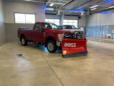 2020 F-350 Regular Cab 4x4,  BOSS Snowplow Pickup #20302 - photo 1