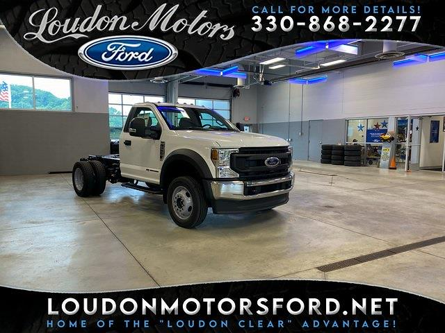 2021 Ford F-550 Regular Cab DRW 4x4, Cab Chassis #21175 - photo 1