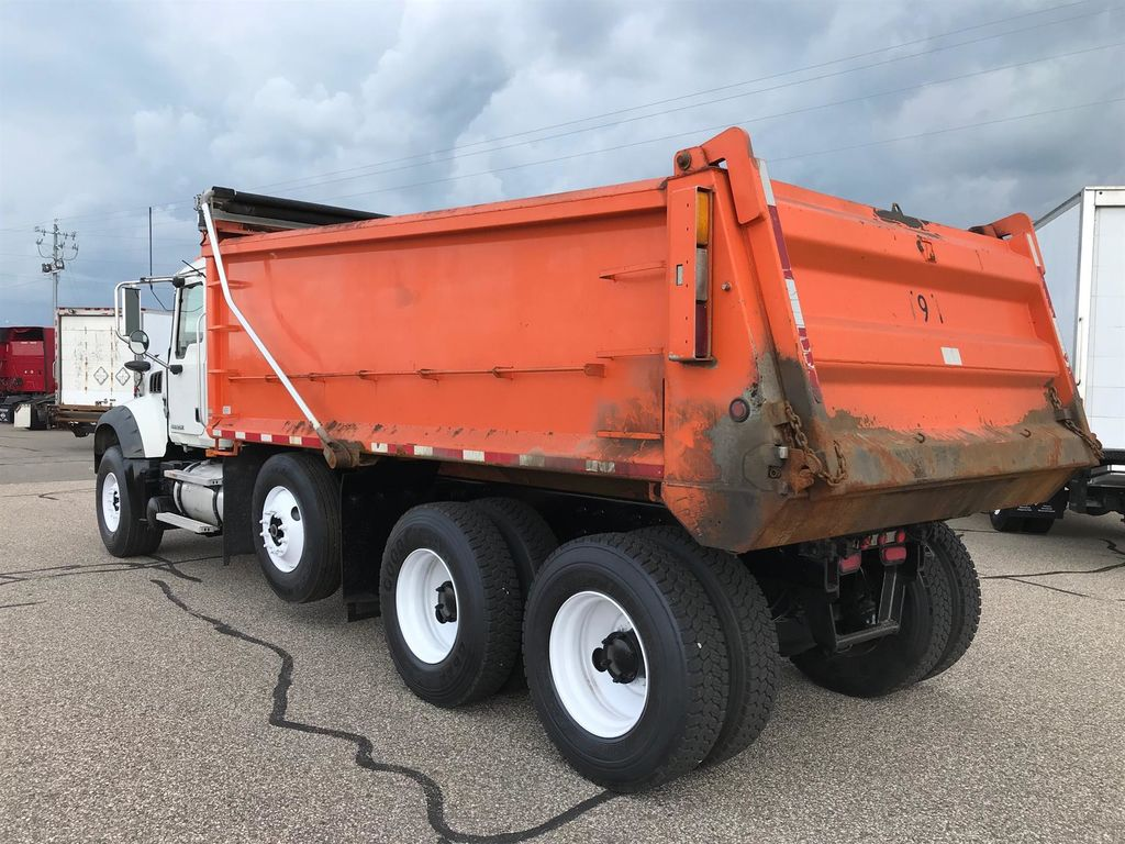 2008 Mack GU713, Dump Body #320A-20 - photo 1