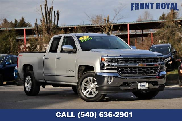 2018 Chevrolet Silverado 1500 Double Cab 4x4, Pickup #K2031 - photo 1