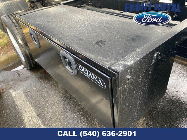 2019 Ford F-450 Crew Cab DRW 4x2, Rugby Versa Rack Landscape Dump #T2983 - photo 12
