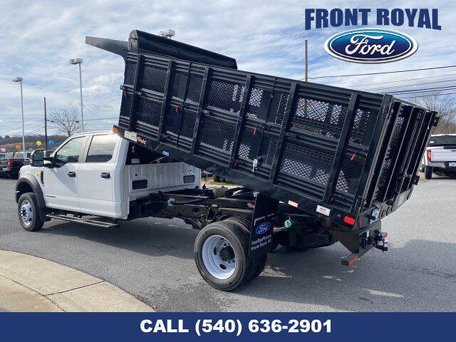 2019 Ford F-450 Crew Cab DRW 4x2, Rugby Versa Rack Landscape Dump #T2983 - photo 24