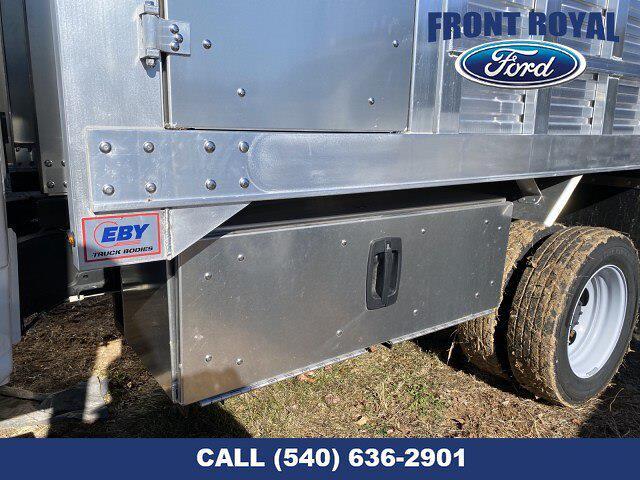 2020 Ford F-450 Crew Cab DRW 4x2, M H EBY Aluminum Landscape Dump #T3008 - photo 10