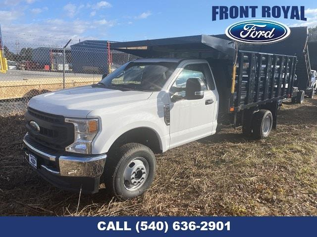 2020 Ford F-350 Regular Cab DRW AWD, PJ's Stake Bed #T3015 - photo 1