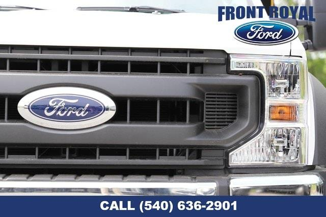 2020 Ford F-350 Regular Cab DRW AWD, PJ's Landscape Dump Stake Bed #T3015 - photo 9