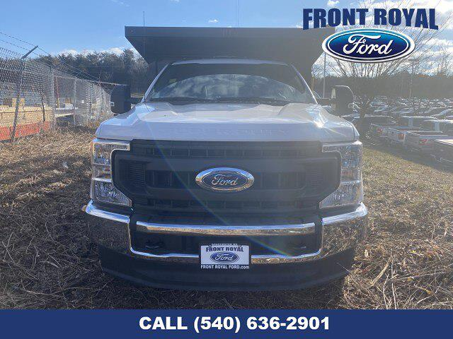 2020 Ford F-350 Regular Cab DRW AWD, PJ's Landscape Dump Stake Bed #T3015 - photo 11