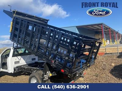 2020 Ford F-350 Regular Cab DRW AWD, PJ's Landscape Dump Stake Bed #T3015 - photo 24