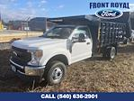 2020 Ford F-350 Regular Cab DRW AWD, PJ's Landscape Dump Stake Bed #T3015 - photo 1