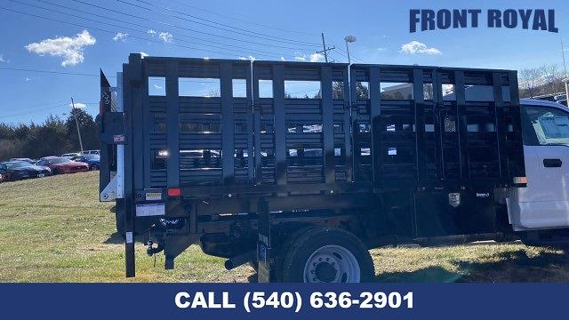 2020 F-450 Regular Cab DRW 4x2,  PJ's Truck Bodies Stake Bed #T3032 - photo 3