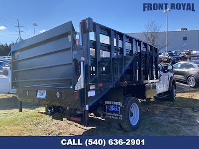2020 F-450 Regular Cab DRW 4x2,  PJ's Truck Bodies Stake Bed #T3032 - photo 2