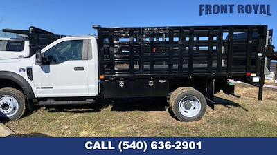 2020 F-450 Regular Cab DRW 4x2,  PJ's Truck Bodies Stake Bed #T3032 - photo 6