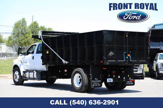 2021 Ford F-650 Crew Cab DRW 4x2, PJ's Landscape Dump #T3125 - photo 1