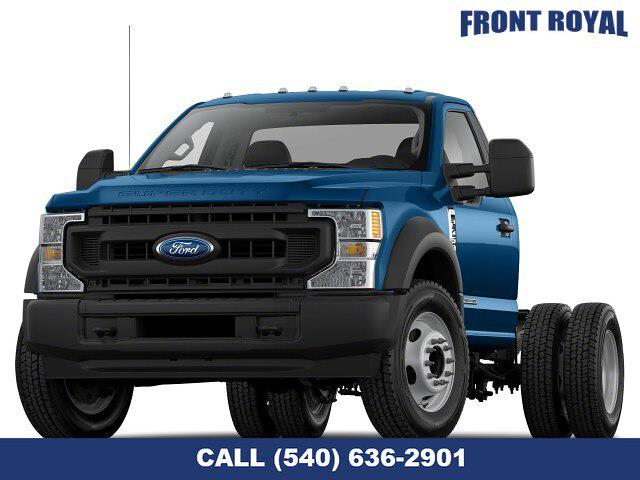 2021 Ford F-550 Regular Cab DRW 4x4, Cab Chassis #T3163 - photo 1