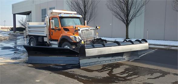 2020 International HV 4x2, Madison Truck Equipment Dump Body #9717X - photo 1