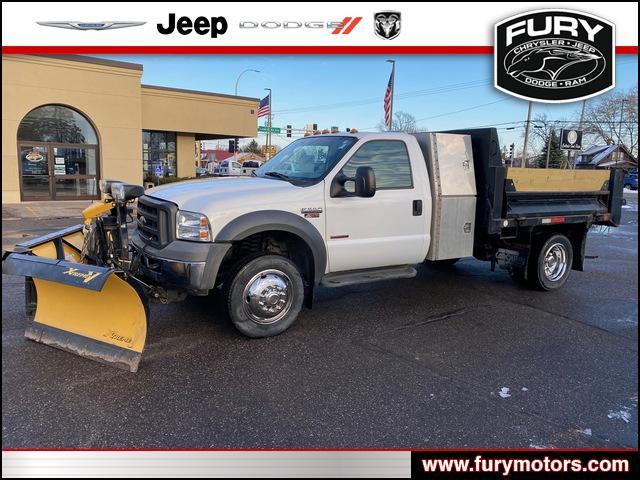 2005 Ford F-550 Regular Cab DRW 4x4, Dump Body #220047A - photo 1