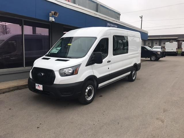 2021 Ford Transit 250 Medium Roof 4x2, Crew Van #1M049 - photo 1