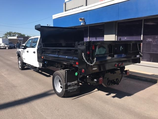 2020 Ford F-550 Crew Cab DRW AWD, Godwin Dump Body #4L019 - photo 1