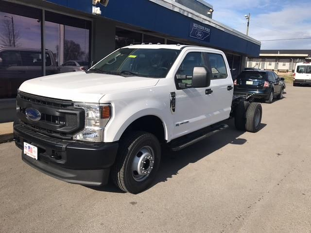 2021 Ford F-350 Crew Cab DRW 4x4, Cab Chassis #C12488 - photo 1