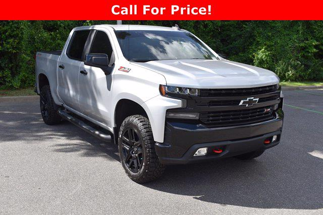 2021 Chevrolet Silverado 1500 Crew Cab 4x4, Pickup #M75111A - photo 1