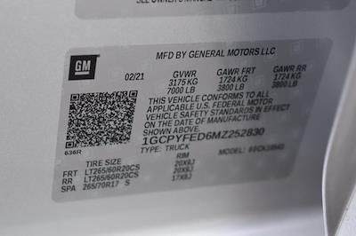 2021 Chevrolet Silverado 1500 Crew Cab 4x4, Pickup #M75111A - photo 35