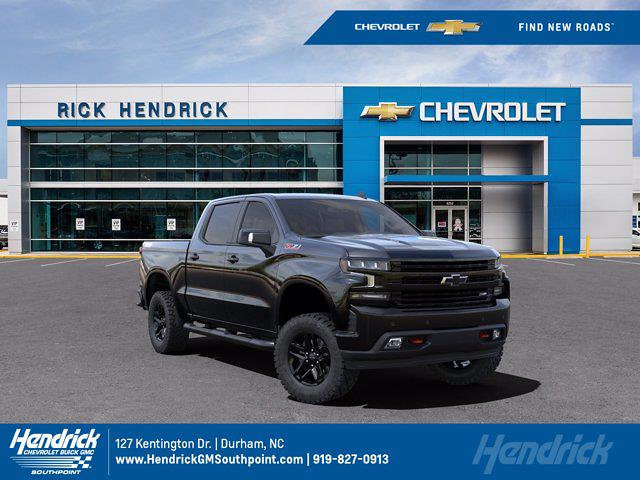 2021 Chevrolet Silverado 1500 Crew Cab 4x4, Pickup #DM08140 - photo 1