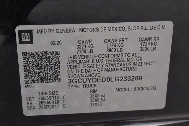 2020 Chevrolet Silverado 1500 Crew Cab 4x4, Pickup #DM34591A - photo 32