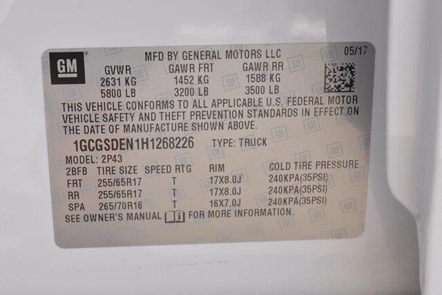 2017 Chevrolet Colorado Crew Cab 4x2, Pickup #M05850B - photo 41