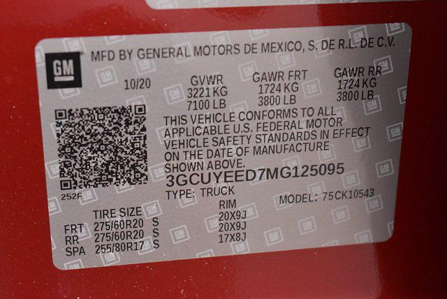 2021 Chevrolet Silverado 1500 Crew Cab 4x4, Pickup #M25095 - photo 21