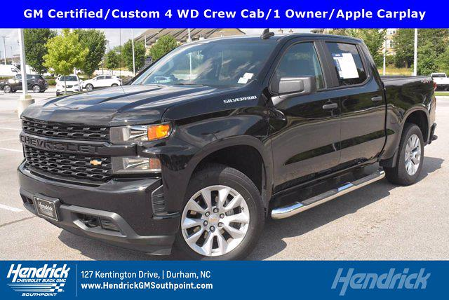 2020 Chevrolet Silverado 1500 Crew Cab 4x4, Pickup #M27207A - photo 1