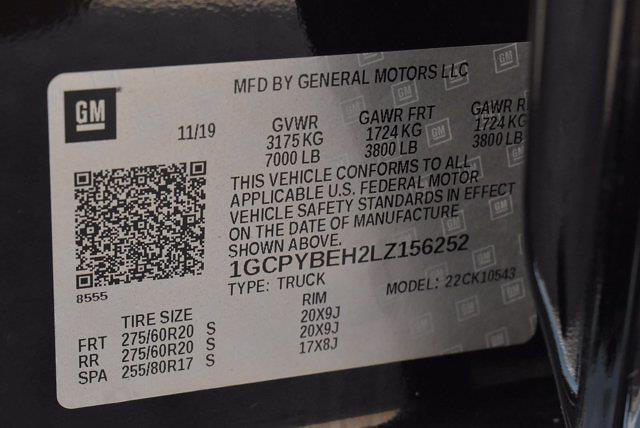 2020 Chevrolet Silverado 1500 Crew Cab 4x4, Pickup #M27207A - photo 38