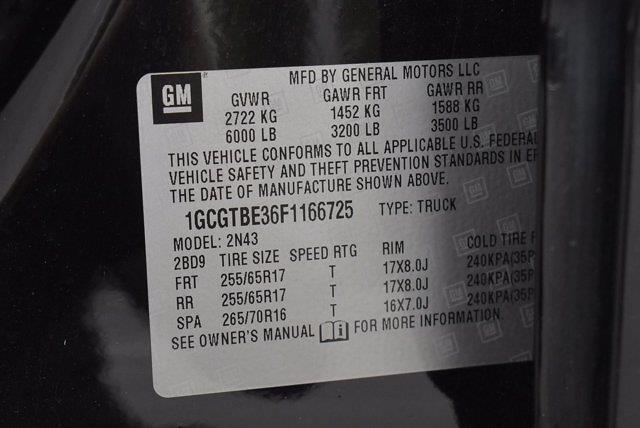 2015 Chevrolet Colorado Crew Cab 4x4, Pickup #M42710A - photo 30