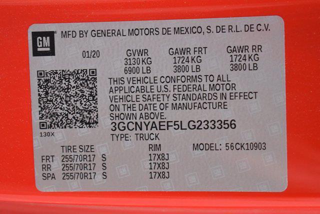 2020 Chevrolet Silverado 1500 Regular Cab 4x4, Pickup #M66225A - photo 27