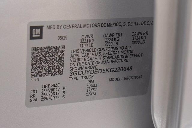 2019 Chevrolet Silverado 1500 Crew Cab 4x4, Pickup #M76169A - photo 38