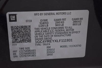 2020 Chevrolet Silverado 2500 Crew Cab 4x4, Pickup #M77227A - photo 35