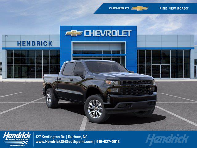 2021 Chevrolet Silverado 1500 Crew Cab 4x4, Pickup #M84773 - photo 1