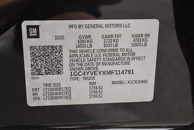 2021 Chevrolet Silverado 3500 Crew Cab 4x4, Pickup #M86290A - photo 43