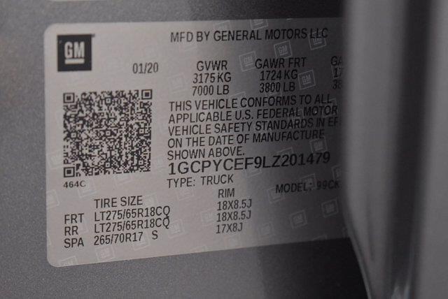 2020 Chevrolet Silverado 1500 Crew Cab 4x4, Pickup #XH08270A - photo 35