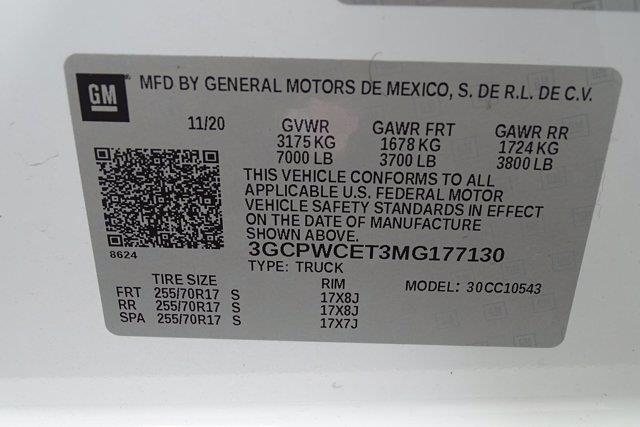 2021 Chevrolet Silverado 1500 Crew Cab 4x2, Pickup #DM22990A - photo 51