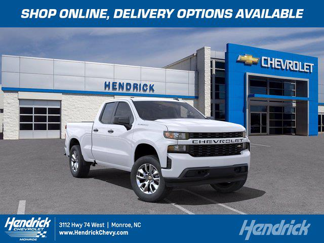 2021 Chevrolet Silverado 1500 Double Cab 4x2, Pickup #M01180 - photo 1