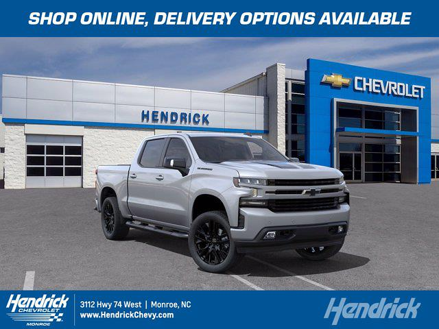 2021 Chevrolet Silverado 1500 Crew Cab 4x4, Pickup #M04840 - photo 1
