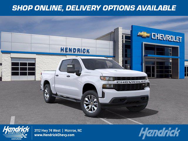 2021 Chevrolet Silverado 1500 Crew Cab 4x4, Pickup #M19386 - photo 1