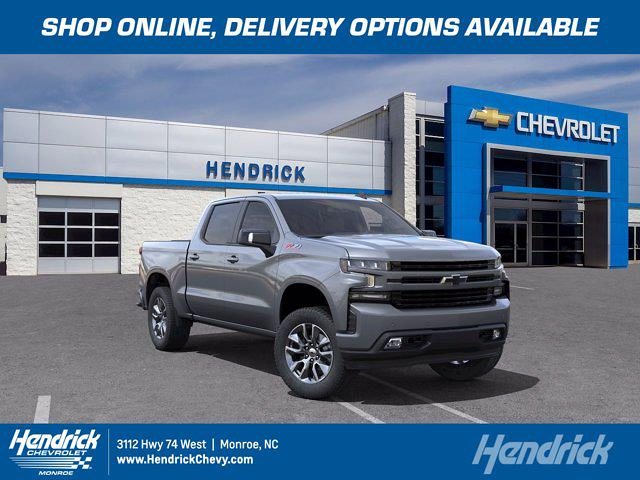 2021 Chevrolet Silverado 1500 Crew Cab 4x4, Pickup #M23440 - photo 1